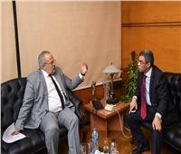 ياسر رزق والخشت يبحثان التعاون بين «أخبار اليوم» وجامعة القاهرة
