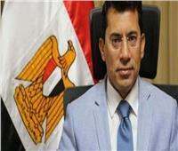 حريق محطة مصر| وزير الرياضة يؤدي صلاة الغائب على أرواح الشهداء