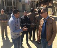 محافظ سوهاج يوجه بتركيب المرافق بالعقار الخاص لأحد المواطنين