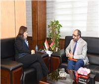 وزيرة التخطيط تلتقي سفير أفغانستان لبحث التعاون في مجالات الإصلاح الإداري