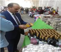 «التضامن»: إقبال كبير على معرض الأسر المنتجة لطلبة جامعة القاهرة