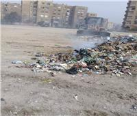 صور| حملة نظافة في حلوان حول قصر خديجة والكابريتاج العلاجي