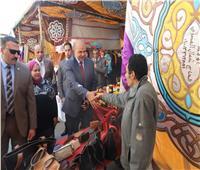 وزير القوى العاملة يفتتح معرض تسويق المنتجات بالوزارة