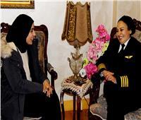 نهى إبراهيم .. أول «مدربة طيران» تتحدث لـ بوابة أخبار اليوم