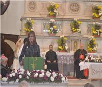 وزيرة الهجرة تشارك باحتفال المئوية الثامنة لوجود الرهبان الفرنسيسكان بمصر