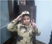 رسالة عمر صلاح للسيسي: أتمنى أن أصبح أصغر جندي في الجيش المصري