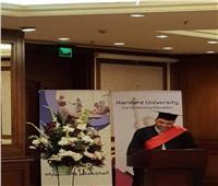 أبو الفتوح يحصل على الدكتوراه من هارفارد
