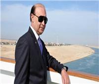 مهاب مميش: انتظام حركة الملاحة بقناة السويس وعبور 55 سفينة