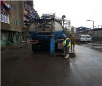 القابضة لمياه الشرب تسحب مياه الأمطار من القاهرة والجيزة خلال 4 ساعات