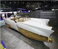 بالفيديو والصور| سيارة الصحراء بطلاء ذهبي عيار 24 قيراط في معرض جنيف