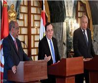 وزراء خارجية مصر وتونس والجزائر يرفضون التدخل الخارجي في الشأن الليبي
