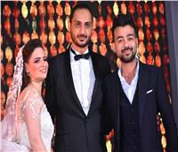صور| هيثم شاكر يتألق بحفل زفاف «عمرو ونوران»