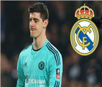 نحس «كورتوا»ينتقل إلى ريال مدريد