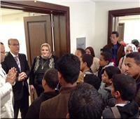 «الصحفيين» تستقبل أطفال حلايب وشلاتين للمساهمة فى دمجهم الثقافي