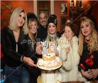 صور| بوسي وشهيرة ودلال عبد العزيز يحتفلون بعيد ميلاد سهير رمزي