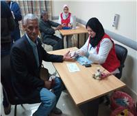 فحص 463 ألف شخص بـ«100 مليون صحة» خلال 6 أيام في الغربية