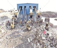 بطاقة ٢٥٠٠ طن يوميًا.. «الأخبار» داخل أكبر مصنع لتدوير القمامة في «١٥ مايو»
