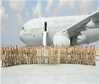 انطلاق فاعليات التدريب المصري البريطاني المشترك «أحمس -1»