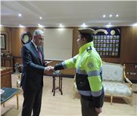 مدير أمن الفيوم يكرم الضباط والأفراد المتميزين