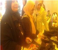35 عارضة في معرض الأسر المنتجة للمشغولات اليدوية العريش