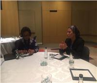 وزيرة البيئة تناقش دعم المبادرة المصرية لدمج الاتفاقيات البيئية الثلاث بجوهانسبرج
