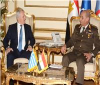 الفريق أول محمد زكى يلتقي وزير الدفاع اليوناني