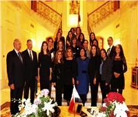 وزيرة الهجرة تتابع أحوال الجالية المصرية بلبنان