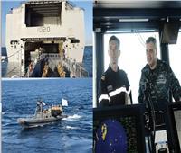 ختام فعاليات التدريب البحري المصري الفرنسي العابر