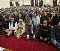 وزير المالية يؤدي صلاة الجمعة بمسجد الفتاح العليم بالعاصمة الإدارية