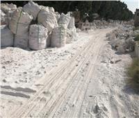 معاينة موقع إنشاء مصنع ورق من مخلفات السكر بنجع حمادي