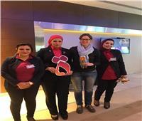 اليوم العالمي للمرأة| مطار القاهرة يحتفل بـ«التاء المربوطة»