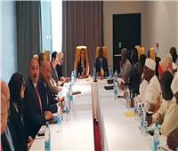 وزيرا الاقتصاد والتنمية والبنية التحتية في تشاد:الرئيس السيسى يقود إفريقيا نحو التنمية