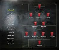 أكرم توفيق يقود تشكيل منتخب مصر الأولمبي أمام مالاوي