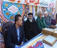 صور| أحمد ناجي يحضر يوم الوحدة الوطنية في الشرقية