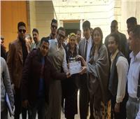 أسرة «براءة ريا وسكينة» تحتفل بتصوير أول مشاهد الفيلم في مدينة الإنتاج