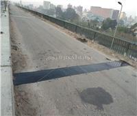 انتهاء إصلاح ١٨ فاصلة بكوبري أبيس بالإسكندرية خلال ٤ أيام