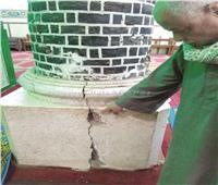 أقدم مساجد سوهاج وعموم الصعيد يواجه شبح الانهيار