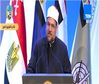 فيديو| وزير الأوقاف: لا مكان للدين بغير الوطن