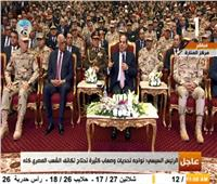 فيديو| السيسي يعد المصريين: سكك حديدية جديدة العام المقبل