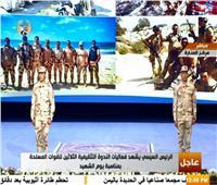 فيديو| العميدان أحمد ومحمود الغنام يستعرضان بطولات العملية الشاملة سيناء 2018