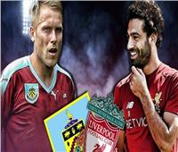 انطلاق لقاء ليفربول وبيرنلى في الدوري الإنجليزي