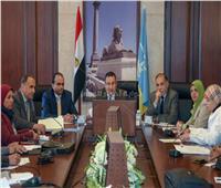 محافظ الإسكندرية يوجه هيئة المساحة بسرعة معاينة أراضي أملاك الدولة