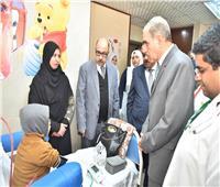 محافظ أسيوط يفتتح أول وحدة غسيل كلوي للأطفال