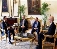 مدبولي يلتقي رئيس عمليات منطقة الشرق الأوسط وأفريقيا بـ «بوش الألمانية»