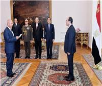 الرئيس السيسي يشهد أداء الفريق كامل الوزير اليمين وزيراً للنقل