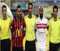 أمين عمر يدير مباراة بوتسوانا وأنجولا في تصفيات أمم إفريقيا