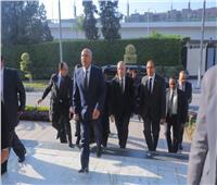 كامل الوزير يجتمع مع أشرف رسلان وقيادات السكة الحديد