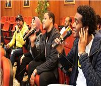 صور  «منيب باند» تشارك في ندوة أحمد منيب بـ٣ أغنيات