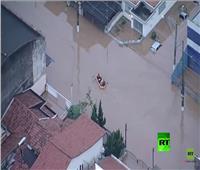 فيديو| مصرع 12 شخصًا بسبب فيضانات في البرازيل