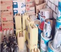 ضبط 200 طن زيت فرامل غير مطابق للمواصفات بغرب الإسكندرية